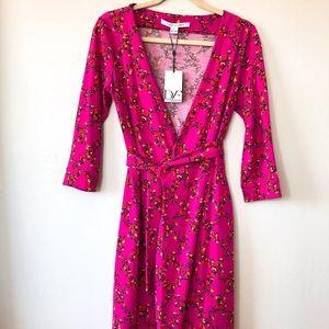 NWT Diane von Furstenberg Julian Two Wrap Dress